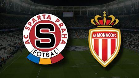 Apostas Sparta Praga vs Mónaco Liga dos Campeões 03/08/21