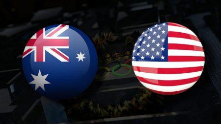 Apostas Austrália Feminino vs EUA Feminino Bronze Tóquio 2020 05/08/21