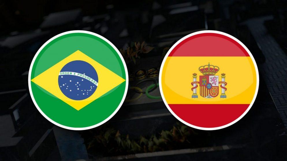 Apostas Brasil Olímpico vs Espanha Olímpica Final Tóquio 2020 07/08/21