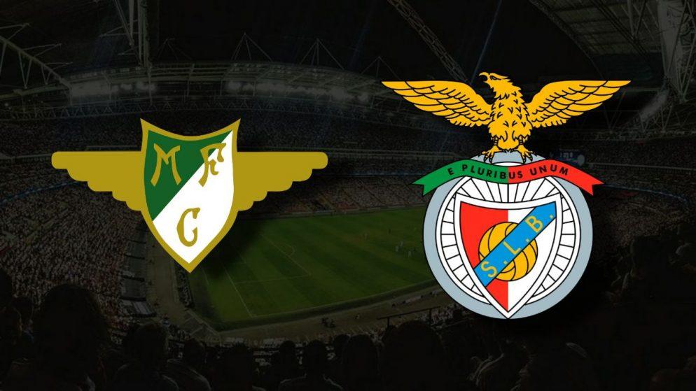 Apostas Moreirense vs Benfica Primeira Liga 07/08/21