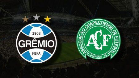 Apostas Grêmio vs Chapecoense Brasileirão 09/08/21