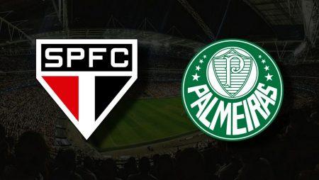Apostas São Paulo vs Palmeiras Libertadores 10/08/21