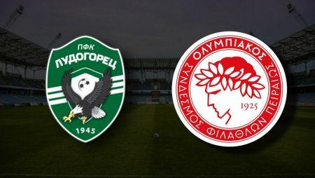 Apostas Ludogorets Razgrad vs Olympiacos Qualificação Liga dos Campeões 10/08/21