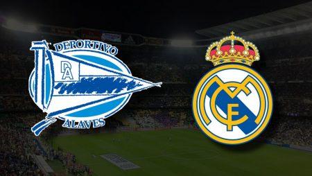 Apostas Deportivo Alavés vs Real Madrid La Liga 14/08/21