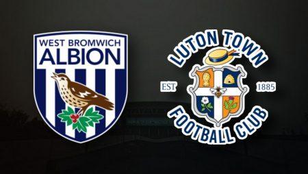Apostas West Bromwich vs Luton Town Championship 14/08/21