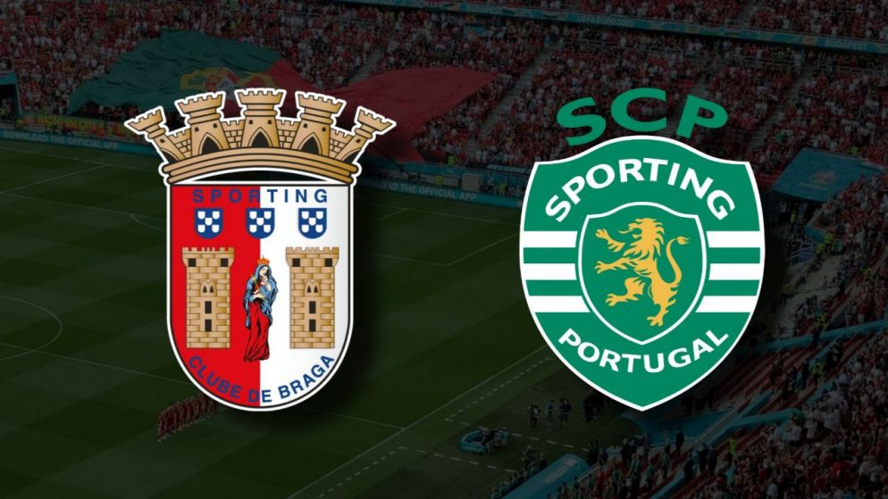 Apostas Braga vs Sporting Primeira Liga 14/08/21