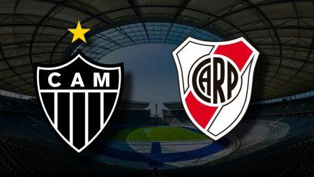 Apostas Atlético Mineiro vs River Plate Libertadores da América 18/08/21