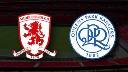 Apostas Middlesbrough vs Queens Park Rangers Championship 18/08/21