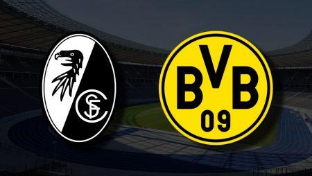 Apostas Freiburg vs Borussia Dortmund Bundesliga 21/08/21