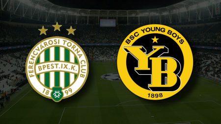 Apostas Ferencvárosi vs Young Boys Qualificação Liga dos Campeões 24/08/21