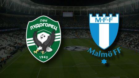 Apostas Ludogorets Razgrad vs Malmö FF Qualificação Liga dos Campeões 24/08/21