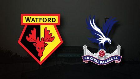 Apostas Watford vs Crystal Palace EFL Cup 24/08/21
