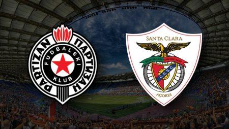 Apostas Partizan vs Santa Clara Qualificação Conference League 26/08/21
