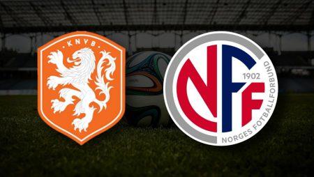 Apostas Noruega vs Holanda Qualificação Copa do Mundo 01/09/21