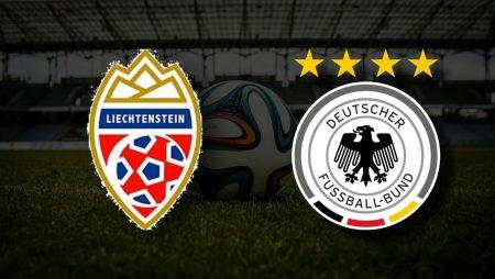 Apostas Liechtenstein vs Alemanha Qualificação Copa do Mundo 02/09/21