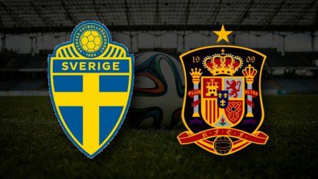 Apostas Suécia vs Espanha Qualificação Copa do Mundo 02/09/21