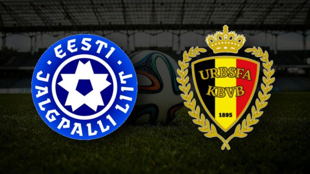 Apostas Estônia vs Bélgica Qualificação Copa do Mundo 02/09/21