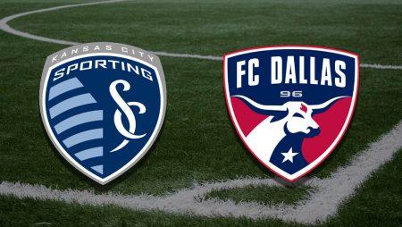 Apostas FC Dallas vs Sporting Kansas City MLS 15/08/21