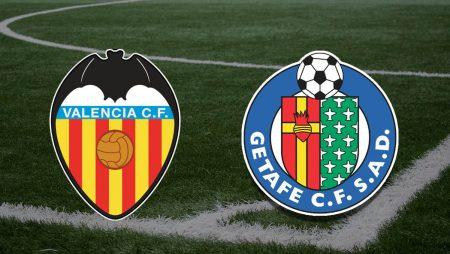 Apostas Valencia vs Getafe La Liga 13/08/21