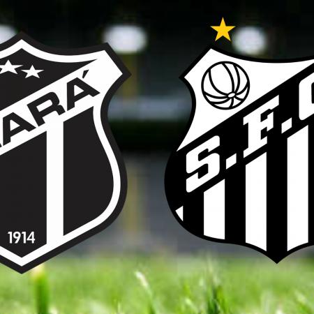 Apostas Ceará vs Santos Brasileirão 19/09/21