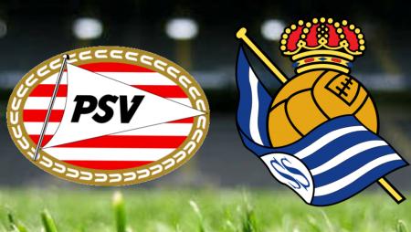 Apostas PSV Eindhoven vs Real Sociedad Liga Europa 16/09/21