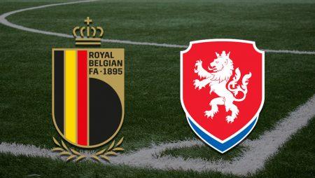 Apostas Bélgica vs República Checa Qualificação 05/09/21