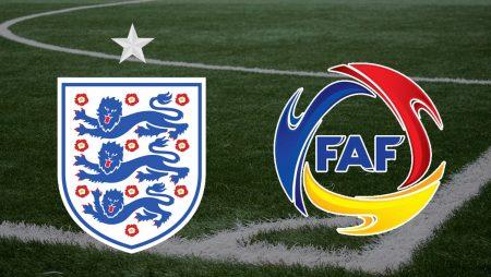 Apostas Inglaterra vs Andorra Qualificação 05/09/21