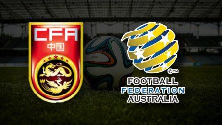 Apostas Austrália vs China Qualificação Copa do Mundo 02/09/21