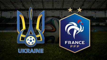 Apostas Ucrânia vs França Qualificação Copa do Mundo 04/09/21