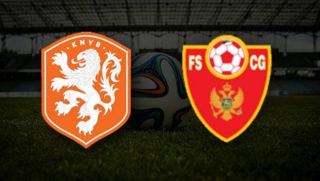 Apostas Holanda vs Montenegro Qualificação Copa do Mundo 04/09/21