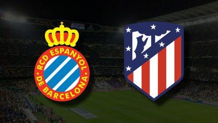 Apostas Espanyol vs Atlético de Madrid La Liga 12/09/21