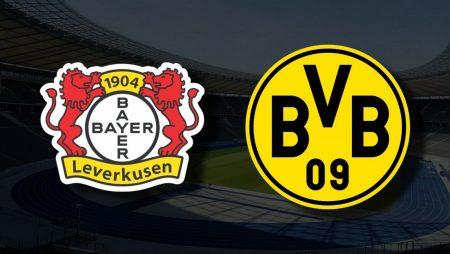 Apostas Bayer Leverkusen vs Borussia Dortmund Bundesliga 11/09/21