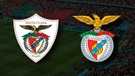Apostas Santa Clara vs Benfica Primeira Liga 11/09/21