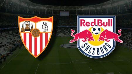 Apostas Sevilla vs Red Bull Salzburg Liga dos Campões 14/09/21
