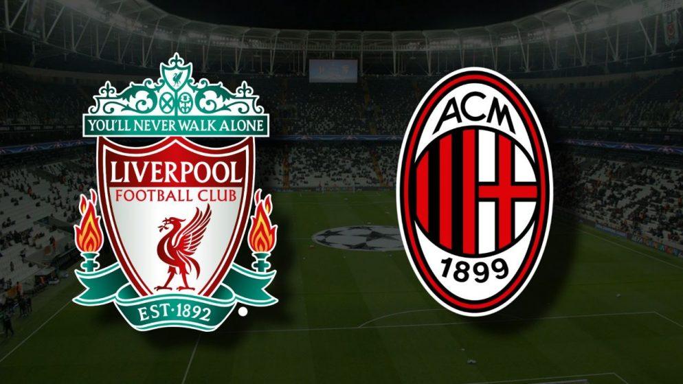 Apostas Liverpool vs Milan Liga dos Campeões 15/09/21
