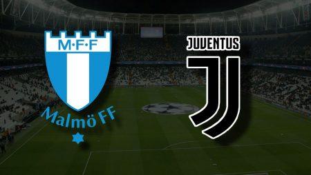 Apostas Malmo vs Juventus Liga dos Campeões 15/09/21