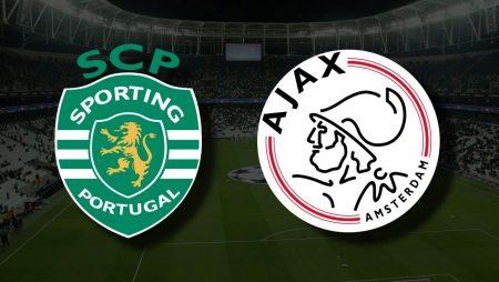 Apostas Sporting vs Ajax Liga dos Campeões 15/09/21