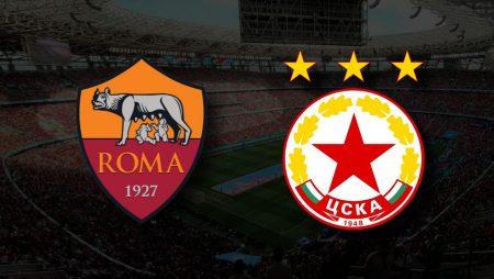 Apostas Roma vs CSKA Sofia Liga Conferência 16/09/21