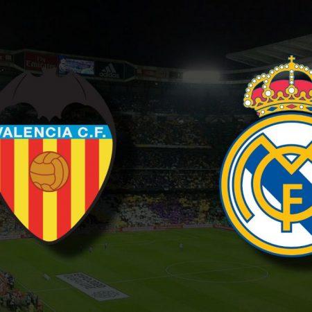 Apostas Valencia vs Real Madrid La Liga 19/09/21