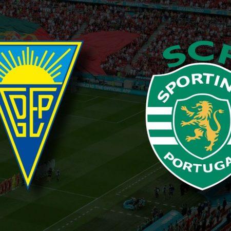Apostas Estoril vs Sporting Primeira Liga 19/09/21