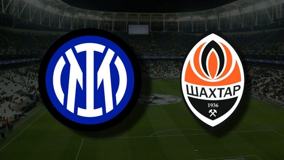 Apostas Shakhtar Donetsk x Inter de Milão Liga dos Campeões 28/09/21
