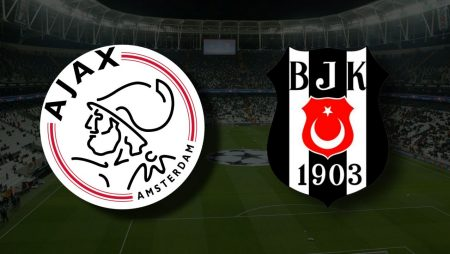 Apostas Ajax vs Besiktas Liga dos Campeões 28/09/21