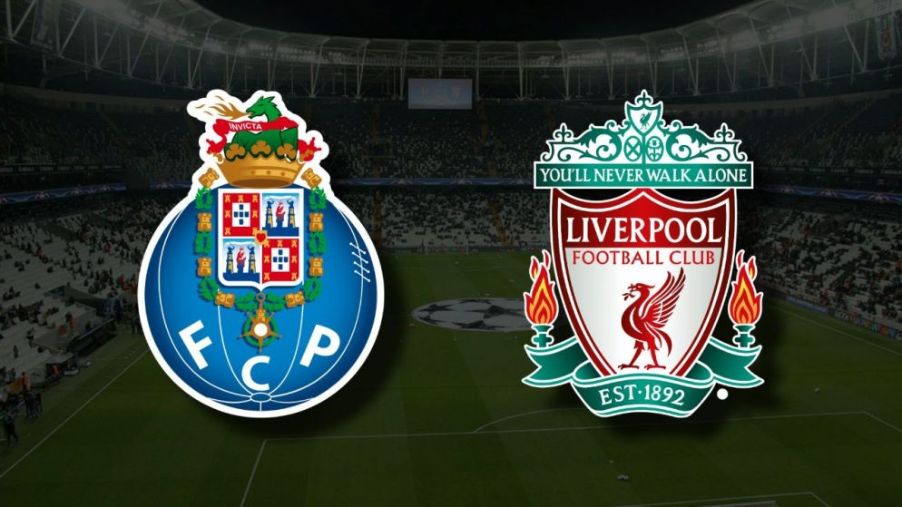 Apostas Porto vs Liverpool Liga dos Campeões 28/09/21