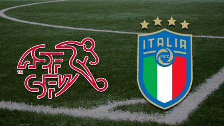 Apostas Suíça vs Itália Qualificação 05/09/21