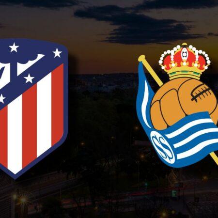 Apostas Atlético de Madrid vs Real Sociedad La Liga 24/10/21
