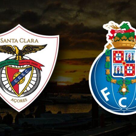 Apostas CD Santa Clara vs FC Porto Taça da Liga 26/10/21