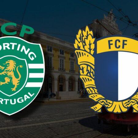 Apostas Sporting CP vs FC Famalicão Taça da Liga 26/10/21
