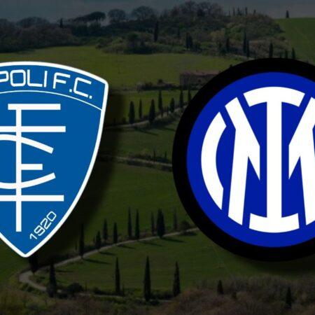 Apostas Empoli vs Internazionale Serie A 27/10/21