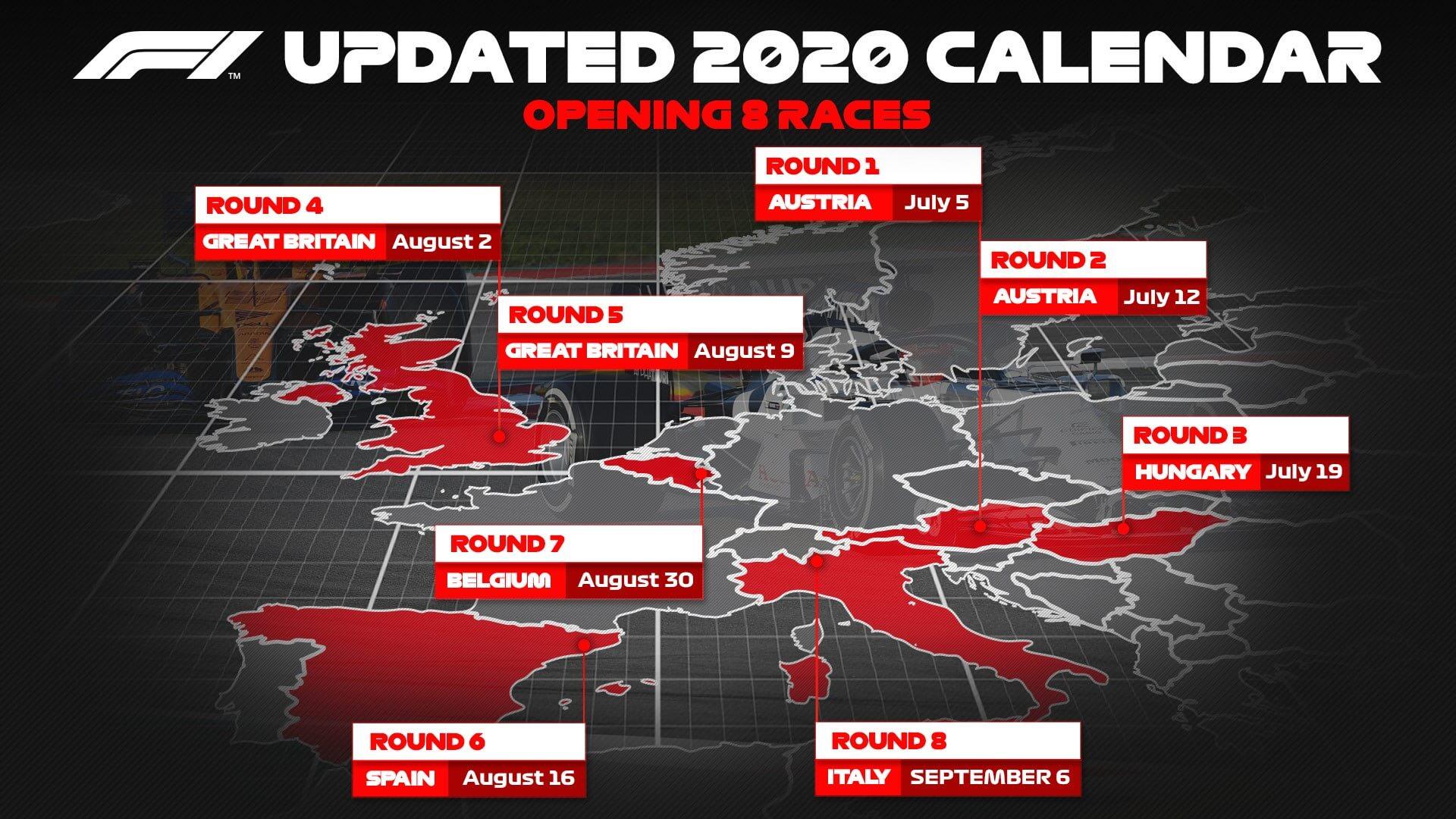 Apostar em GP Austria 2020
