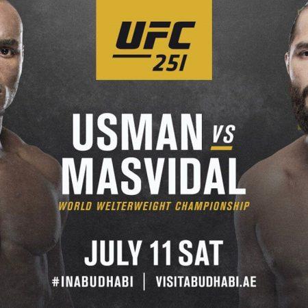 Apostas Usman vs Masvidal UFC 11/07/2020